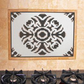 Bravura Cocoa Mosaic Pendant