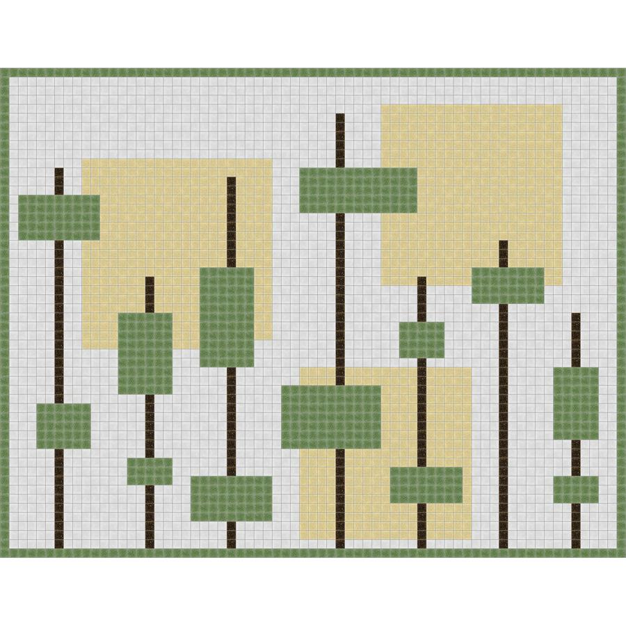 Mosaic Tile Dragonfly Pattern Mixed Media Mosaic Art