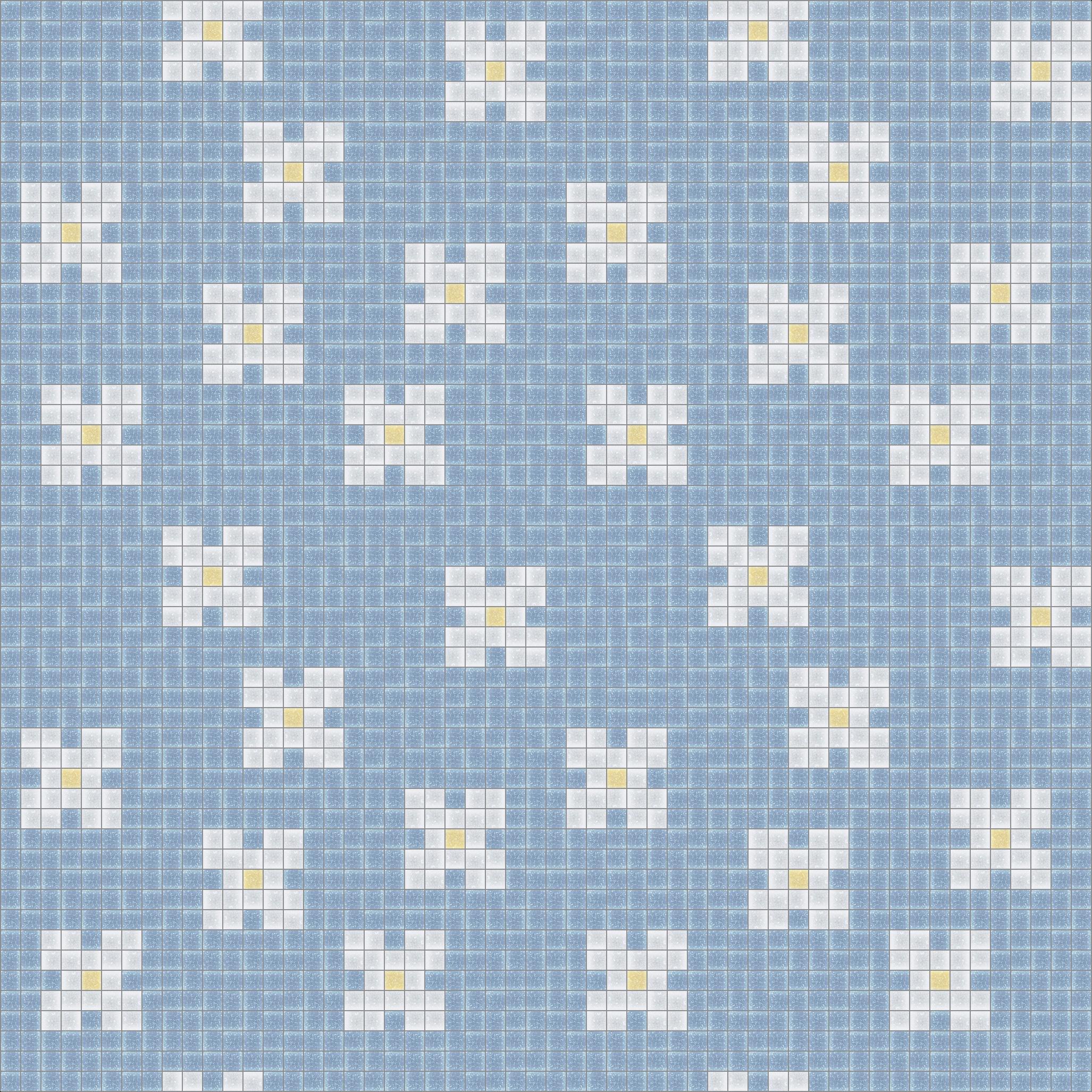 Traditional Bloom Mosaic Tile Pattern | Modern Design | Mosaic Loft ...