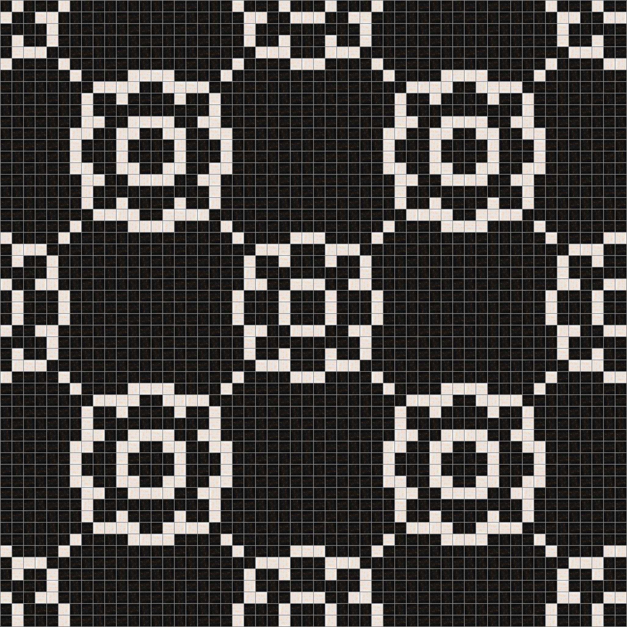 Traditional Flourish Mosaic Tile Pattern Modern Design