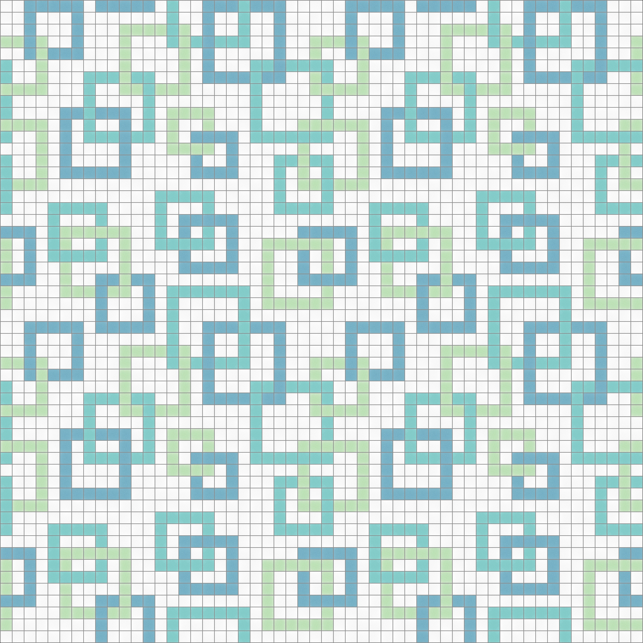 Contemporary Links Mosaic Tile Pattern | Modern Design | Mosaic Loft ...