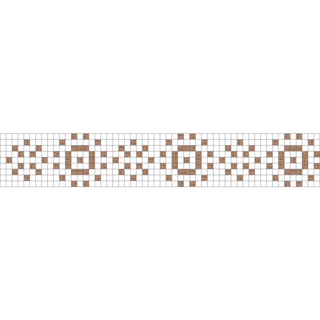 Modern jubilation mosaic tile border modern design mosaic loft